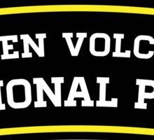 LASSEN VOLCANIC NATIONAL PARK CALIFORNIA  MOUNTAINS HIKE HIKING CAMP CAMPING Sticker