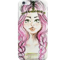 Tumblr Girl iPhone Case/Skin