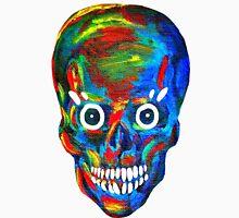 Rainbow Skull Women's Fitted Scoop T-Shirt