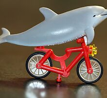 Flipper Rides Again! by themindfulart