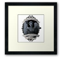 Weeping Angel - Doctor Who Framed Print
