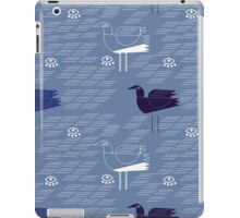 Seagulls and waves  iPad Case/Skin