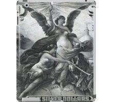 Five U.S. Dollar Bill - 1896 Educational Series  iPad Case/Skin