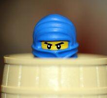 Crouching Ninja, Hidden Legs by themindfulart