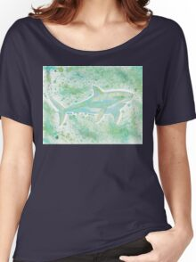 Great White Shark Splatter Women's Relaxed Fit T-Shirt