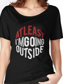GO outside Women's Relaxed Fit T-Shirt