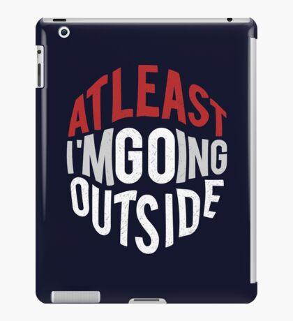 GO outside iPad Case/Skin