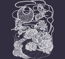 Lotus and Butterfly Unisex T-Shirt