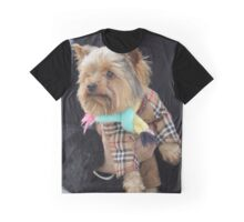 Elegant Yorkshire Terrier Graphic T-Shirt