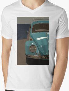 Classic Beetle Mens V-Neck T-Shirt