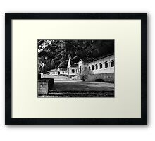 The Royal Rock Temple complex location Dambulla Framed Print