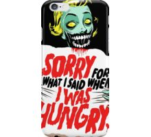 Sorry Zombie iPhone Case/Skin