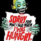 Sorry Zombie by butcherbilly