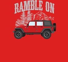RAMBLE ON (red) Classic T-Shirt