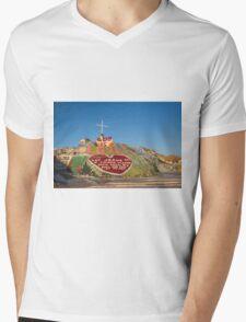 Salvation Mountain California Mens V-Neck T-Shirt