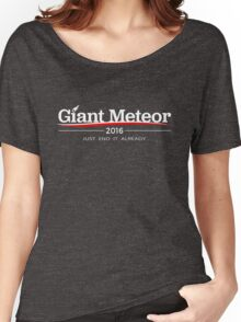 GIANT METEOR 2016 JUST END IT ALREADY Women's Relaxed Fit T-Shirt
