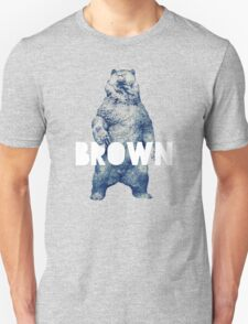 Brown Bear Unisex T-Shirt