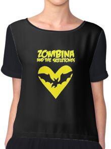 Zombina and the Skeletones tour shirt 2014 Chiffon Top