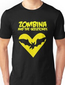 Zombina and the Skeletones tour shirt 2014 Unisex T-Shirt