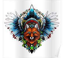 Fox wings Poster