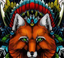 Fox wings Sticker