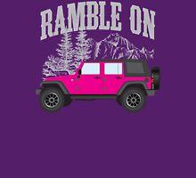 RAMBLE ON (pink) Classic T-Shirt