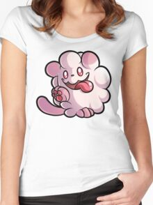 Swirlix Women's Fitted Scoop T-Shirt