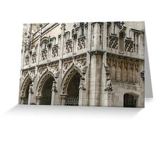 Architectural Details on St Margaret's Church Greeting Card