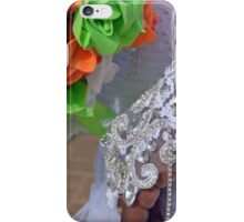 African Wedding - colorful Flowers iPhone Case/Skin