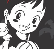 Kiki's Delivery Service - Team Ghibli Sticker