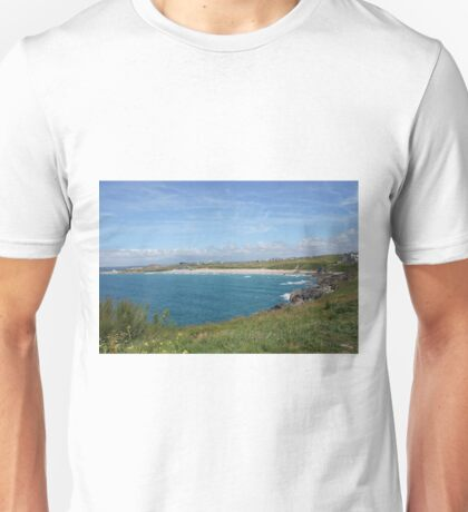 Fistral Beach on scorching day Unisex T-Shirt