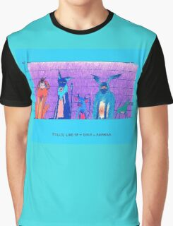Police Line-Up - Dogs of Anahola Graphic T-Shirt