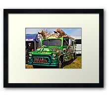 Horney Bus Framed Print