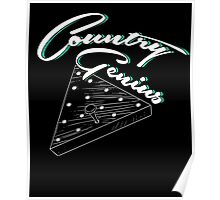 Country Genius - Restaurant Triangle Peg Tee Game Poster