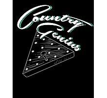 Country Genius - Restaurant Triangle Peg Tee Game Photographic Print