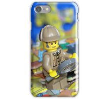 Sherlock Peacefully Pondering the Puzzle Pieces iPhone Case/Skin