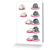 Sneaky Kiss Card Greeting Card