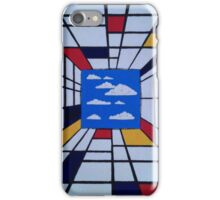 in the style of Mondrian - perfect for pillow iPhone Case/Skin