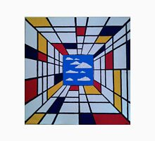 in the style of Mondrian - perfect for pillow Unisex T-Shirt