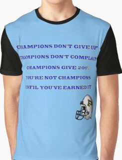 Coach Taylor Quote Graphic T-Shirt