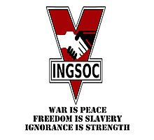 Ingsoc Photographic Print