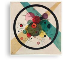 In the style of Kandinsky - perfect for bed Canvas Print