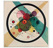 In the style of Kandinsky - perfect for bed Photographic Print