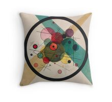 In the style of Kandinsky - perfect for bed Throw Pillow