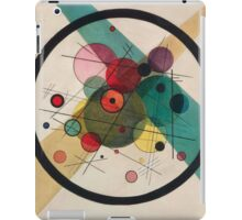 In the style of Kandinsky - perfect for bed iPad Case/Skin