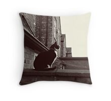 Corrie Cat! Throw Pillow