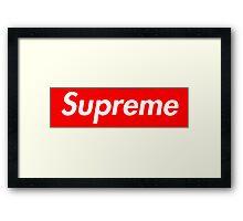 Thupreme Framed Print