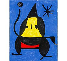 In the style of Miro - Dancing Photographic Print
