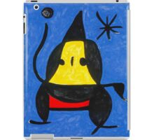 In the style of Miro - Dancing iPad Case/Skin