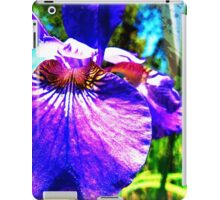 Wild Purple Iris iPad Case/Skin